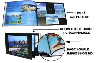 Livre photo format 20x30
